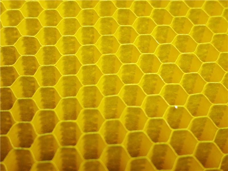 1.8mm金色紙蜂窩