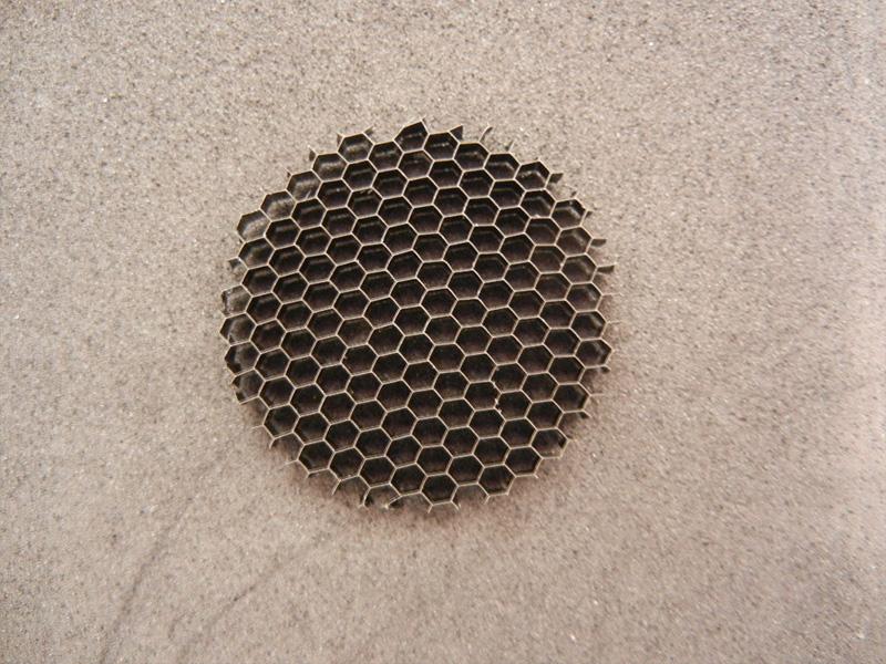 邊長為1.5(a=1.5)的燈飾用微孔燈飾用鋁蜂窩芯