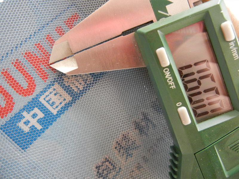 邊長為a=0.6mm過濾用高透過率鋁蜂窩芯